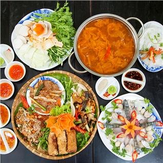 Cùng Mua - Set an cuc uu dai cho 3 - 5 nguoi - NH Ngon 138 CN Cao Thang