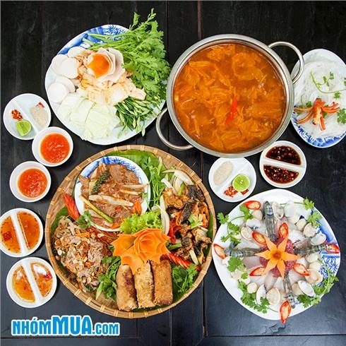 Set ăn cực ưu đãi cho 3 - 5 người - NH Ngon 138 CN Cao Thắng
