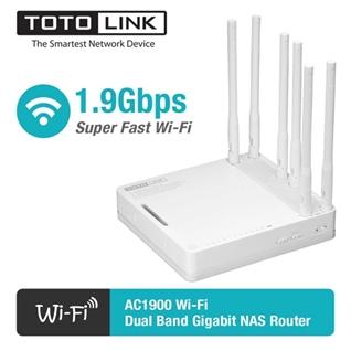 Cùng Mua - Bo phat WiFi bang tan kep Gigabit AC1900 TOTOLINK A6004NS