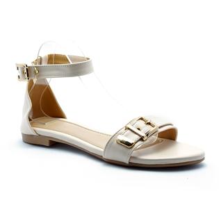 Cùng Mua - Giay sandal nu thoi trang Princess P29K mau kem