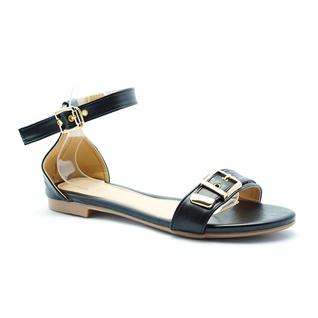 Cùng Mua - Giay sandal nu thoi trang Princess P29D mau den