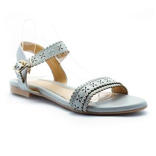 Cùng Mua - Giay sandal nu thoi trang Princess P30X mau xam ghi
