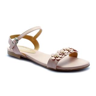 Cùng Mua - Giay sandal nu ket hoa Princess P25HO mau hong nude
