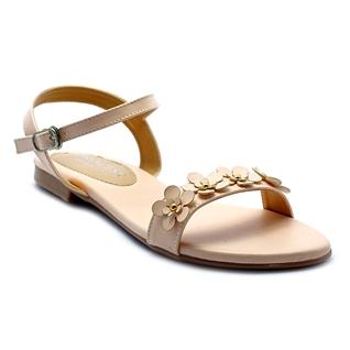 Cùng Mua - Giay sandal nu ket hoa Princess P25K mau nude