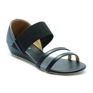 Cùng Mua - Giay sandal nu quai thun Princess P26D mau den
