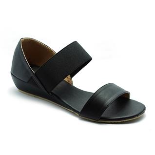 Cùng Mua - Giay sandal nu quai thun Princess P11D mau den