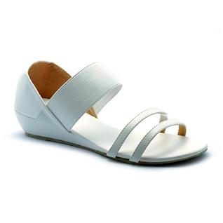 Cùng Mua - Giay sandal nu quai thun Princess P26T mau trang
