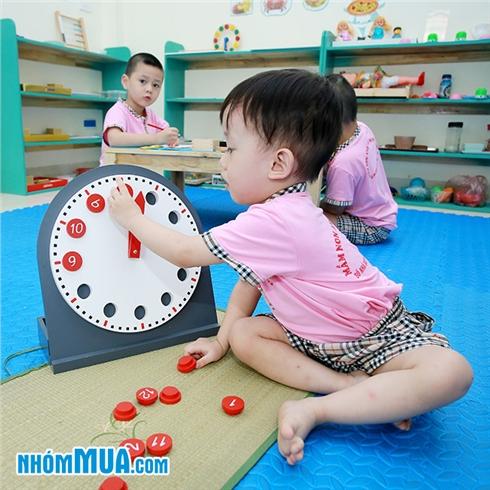 1 tháng học cho bé 1.5 - 05 tuổi tại Trường Mầm Non Anh Đào