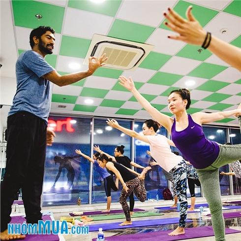 Gói 30 buổi tập Gym/Yoga/Aerobic/Dance tại Yap Gym và Yoga