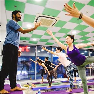 Cùng Mua - Goi 30 buoi tap Gym/Yoga/Aerobic/Dance tai Yap Gym va Yoga