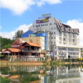 Cùng Mua - Khach san Kings Hotel Da Lat 4* 3N2D + City tour (Gia soc)