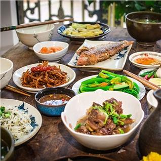 Cùng Mua - Combo ap dung an sang / trua / toi tai Quan Co Quyen Xu Quang