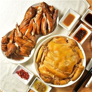 Cùng Mua - Ga ta nguyen con quay nuoc dua (1.3 - 1.5kg)