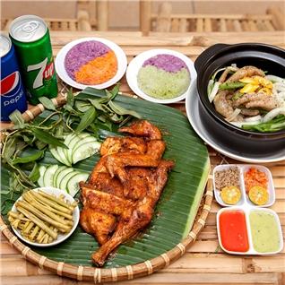 Cùng Mua - Thuong thuc combo ga nuong hap dan (1/2con) - Ga Khuyet