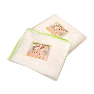 Cùng Mua - Combo 2 khan tam cotton 6 lop Be Mi cho be (75 x 80 cm)