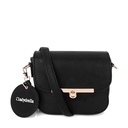 Túi xách Cindydrella bì thư xinh xắn BAG7D - Màu Đen