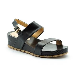 Cùng Mua - Giay sandal de xuong Cindyrella mau den CDY17D