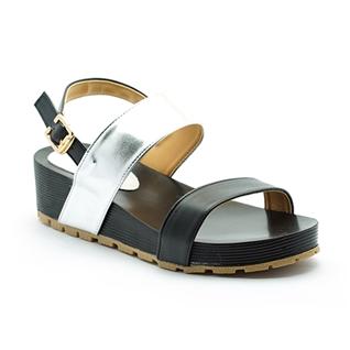 Cùng Mua - Giay sandal phoi mau Cindyrella mau bac CDY17DB