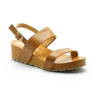 Cùng Mua - Giay sandal de xuong Cindyrella mau nau CDY17N