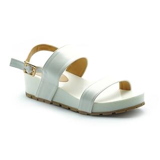 Cùng Mua - Giay sandal de xuong Cindyrella mau Trang CDY17T