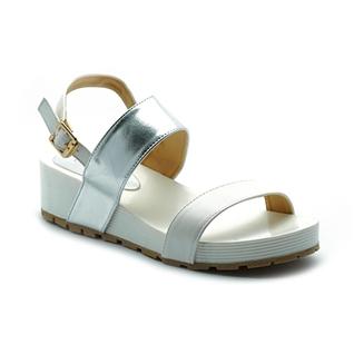 Cùng Mua - Giay sandal phoi mau Cindyrella mau Trang CDY17TB