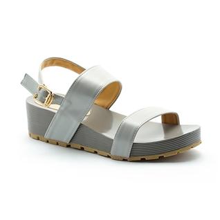 Cùng Mua - Giay sandal de xuong Cindyrella mau Xam CDY17X