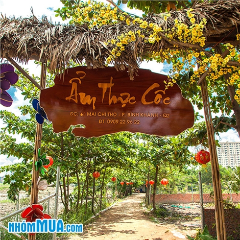 Combo cho 05 - 06 người tại Khu câu cá - ẩm thực Cốc