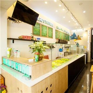Cùng Mua - Combo salad va nuoc ep tu chon bo duong tai Salad Station