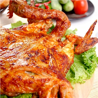 Cùng Mua - Ga nuong sot Teriyaki nguyen con hap dan - Vietfood Style SG