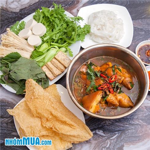 Combo lẩu cho 2-3 người ăn tại Nhà Hàng Bánh Canh Vua