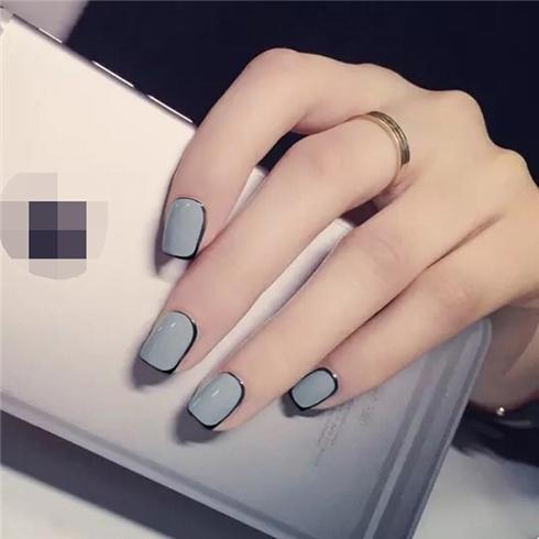 Set 24 Nails móng tay cực xinh kèm keo dán mẫu 374