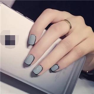 Cùng Mua - Set 24 Nails mong tay cuc xinh kem keo dan mau 374
