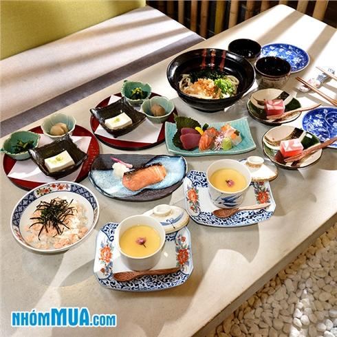 Set Sashimi truyền thống Nhật không gian sang trọng-Tachibana