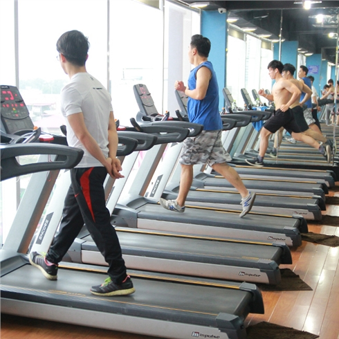 02 tháng tập gym full time + Xông hơi - Tuấn Vũ fitness.