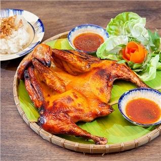 Cùng Mua - Ga Nuong La Sen / Ga Nuong Xa Xiu (1.5kg) Tai Nha Hang Ga Dat