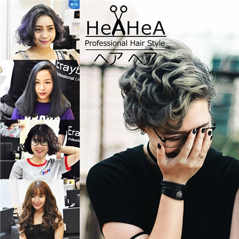 Gói Uốn/ Duỗi/Nhuộm/Bấm + Cắt + Gội + Sấy - Hair Salon HeaHea