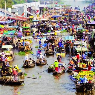 Cùng Mua - Tour Tet Can Tho - Ben Ninh Kieu 2N1D - Nghi Duong 5 Sao