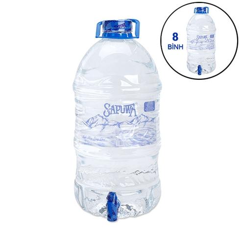 Combo 8 bình nước SAPUWA có vòi 5L/bình