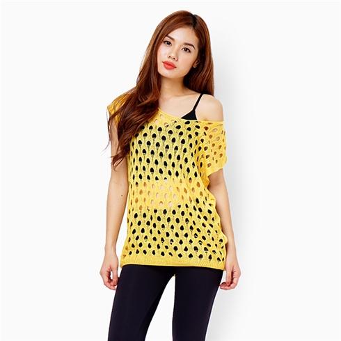 Áo len mỏng - Màu vàng