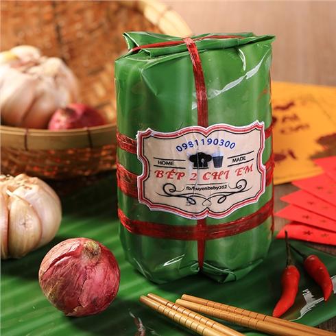 Pate Jambon (500gr) - Đặc sản Trà Vinh - Bếp Hai Chị Em