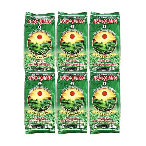 Combo 6 gói trà Sâm Dứa Ngọc Quang đặc sản B'Lao (70g / gói)