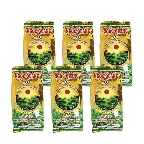 Combo 6 gói trà Lài Ngọc Quang đặc sản B'Lao (70g / gói)