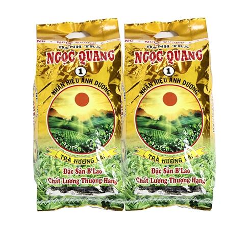 Combo 2 gói trà Lài Ngọc Quang đặc sản B'Lao (300g / gói)