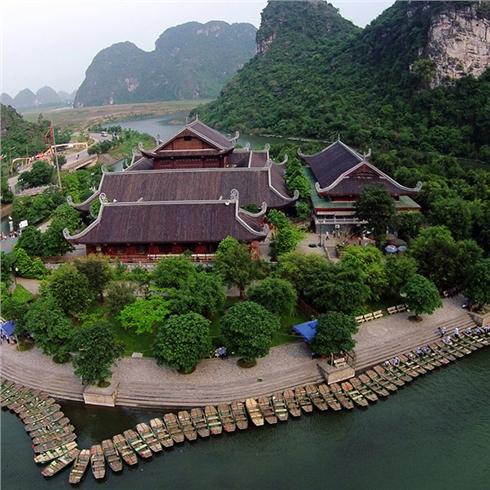 Tour Hà Nội - Hoa Lư - Tam Cốc - Bái Đính - Tràng An 2N1Đ
