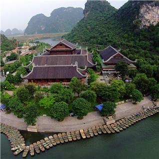 Cùng Mua - Tour Ha Noi - Hoa Lu - Tam Coc - Bai Dinh - Trang An 2N1D