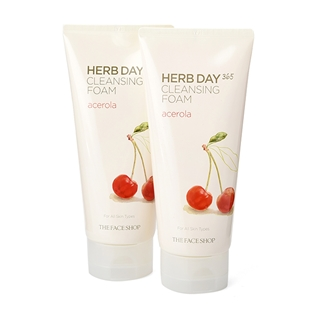 Cùng Mua - Combo 2 sua rua mat The Face Shop Cherry 170ml