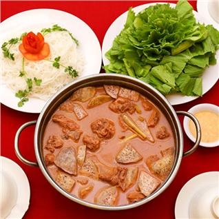 Cùng Mua - Lau vit nau chao 1.2kg sieu ngon cho 4 nguoi - NH Sai Gon Nho