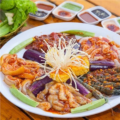 Combo 5 món nướng dành cho 1-2 người ăn tại Hệ thống Jokul