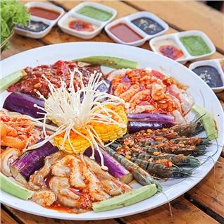 Cùng Mua - Combo 5 mon nuong danh cho 1-2 nguoi an tai He thong Jokul
