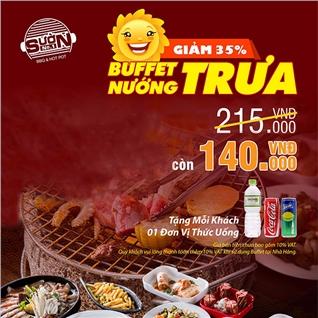 Cùng Mua - Buffet trua 40 mon hai san va bo my nuong 5* - NH Suon No.1